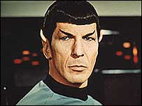 Mr Spock, character from Star Trek