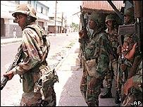 Jamaican army