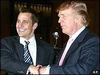 Bill Rancic and Donald Trump