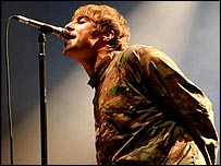 Oasis singer Liam Gallagher