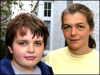 Martin Rothwell and mother Sian