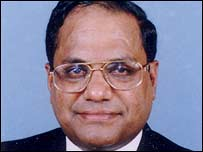 Thomas Abraham, chairman of the Global Organisation of People of Indian Origin
