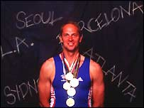 Sir Steve Redgrave won a record five golds