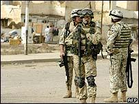 Polish troops in Iraq