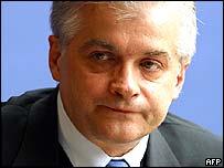 Polish Foreign Minister Wlodzimierz Cimoszewicz