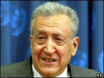 Lakhdar Brahimi, UN envoy to Iraq