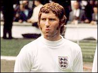 Former England international Alan Ball