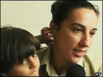 Italian hostage Simona Torretta