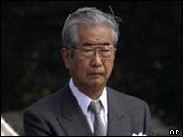 Shintaro Ishihara, governor of Tokyo