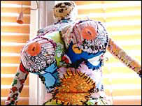 Puppet person, by Karah Benford