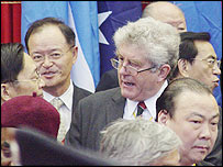 Rhodri Morgan at the China International Fair for Investment and Trade
