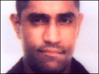 Shumin Hussein. Photo from Herts Police.