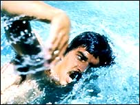 Mark Spitz in action in 1972