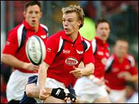 Scarlets scrum-half Dwayne Peel