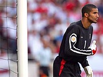 England's number one keeper David James