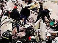 Sitio del atentado contra la AMIA
