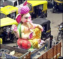 Ganesh idol in Bangalore