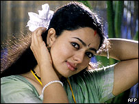 Telugu-language film star Soundarya