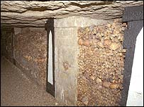 Catacombs  (Photo: (c) Copyright 1996 John Kalucki)