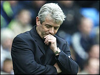 Kevin Keegan was back for Man City, but failed to inspire his troops