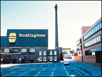 Boddingtons Brewery, Manchester