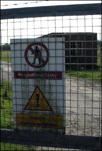 Broughton Moor gate