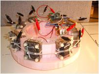 Interior workings of EcoBot