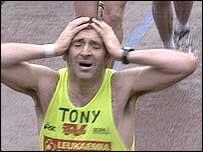 London Marathon competitor