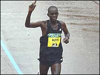 Evans Rutto, corredor de Kenia.