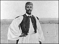 Louis Spyridon, ganador del marat�n en las Olimpiadas de Atenas en 1896. Foto: Archivos COI.