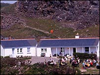 Cafe at Kynance Cove. Picture courtesy of National Trust