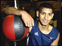 Olympic boxer Amir Khan