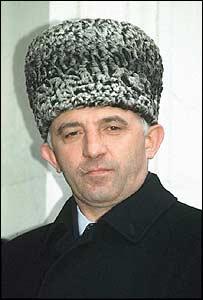Aslan Maskhadov (archive picture)