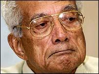 Former Fijian Prime Minister Ratu Sir Kamisese Mara