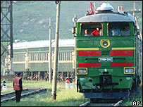 Kim Jong-il's armoured train