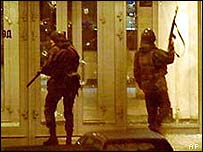 The Moscow Theatre siege in 2002
