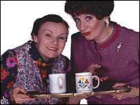 Julie Walters and Victoria Wood