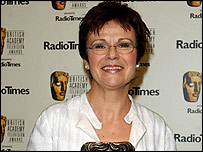 Julie Walters at the Baftas