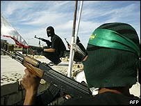 Members of the Mahdi Army in Baghdad