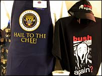 Goods on sale at Washington's Dulles Airport