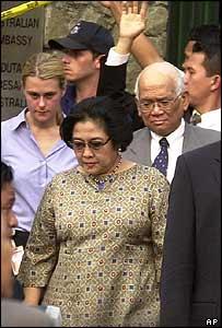 Indonesian President Megawati Sukarnoputri