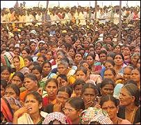 Rally in Alar, Andhra Pradesh