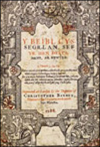 The cover of the Bible (picture The National Library of Wales)