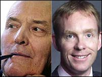 Tony Benn and Chris Bryant