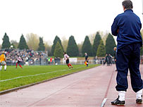 What are you like on the touchline?