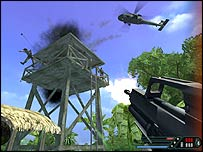 Screenshot from Far Cry