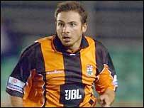 Barnet striker Giuliano Grazioli