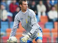 Sweden goalkeeper Andreas Isaksson