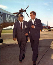 Kennedy and von Braun (US Army Aviation and Missile Command)