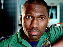 Kwame Kwei-Armah in his BBC One Casualty role